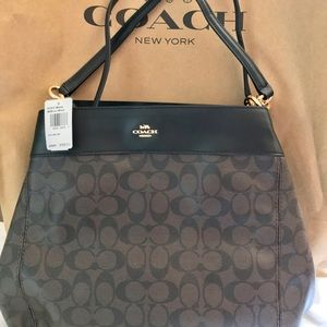 COACH Lexy Shoulder Bag In Signature Canvas